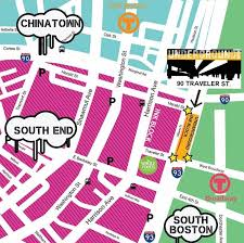 Boston Underground Map by South End Bosguy