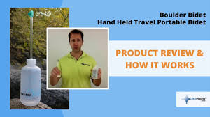 Hygienna Solo Portable Bidet Boulder Compact Portable Travel Bidet Product Review
