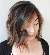 long bobs with dark hair 40 on trend balayage short hair looks