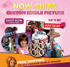 custom edible images custom edible image 7 5 x 10