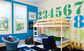 μπλε στο παιδικό δωμάτιο χρώματα για δωμάτια vivechrom