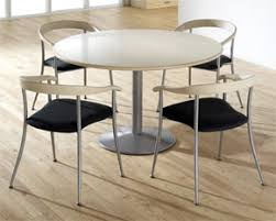 small round office table small white round table with metal chair set small round office