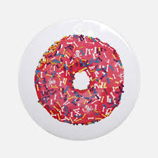 donut ornament cafepress
