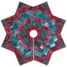 kringle u0027s kaleidoscope tree skirt