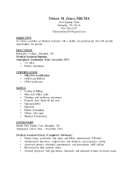 Resume Example For Medical Assistant by Ma Resume Examples