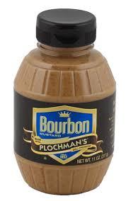 plochman s mustard bourbon mustard 11 oz