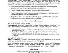 Program Manager Resume Objective Manager Resume Format 2 Project Example Nardellidesign Com