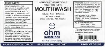 kosher mouthwash ohm mouthwash