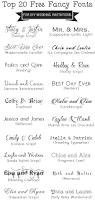 Diy Wedding Invitation Template Top 20 Free Fancy Fonts For Diy Wedding Invitations