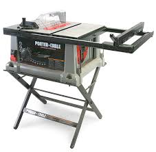 porter cable table saw review 3812 portable tablesaw review fine homebuilding