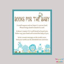 instead of a card bring a book baby shower invitations books instead of cards designs agency