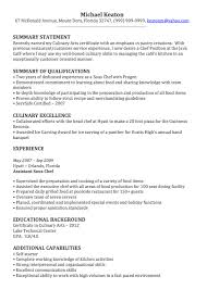 Executive Chef Resume Template Sample Sous Chef Resume Chef Resume Sample Examples Sous Chef