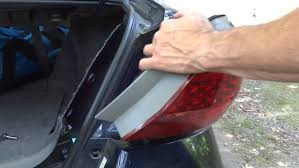 how much to fix a tail light replace honda accord tail light assembly 2006 and newer youtube