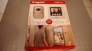 Interphone Video Sans Fil Legrand by Legrand Leg369220 Kit De Portier Visiophone Avec écran Miroir 7