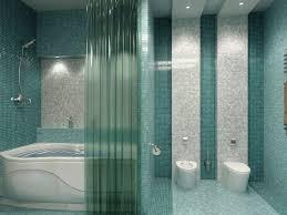 Bathroom Mosaic Ideas Cool Blue Tile Mosaic Ideas For Aquatic Luxury Bathroom Design