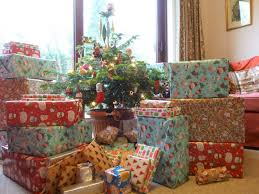 wrapped christmas boxes bugs and fishes by lupin gift wrapping idea for christmas wrap