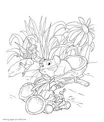 free printable fairy coloring pages for kids tale preschool