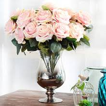 Silk Floral Arrangements Online Get Cheap Silk Flower Arrangements Aliexpress Com