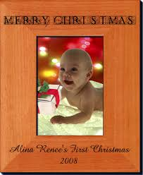 personalized first christmas frames create your own one of a