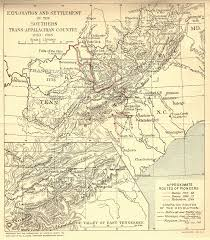Map Of East Tennessee by Tngennet Inc Colonial Period Indian Land Cessions In The American
