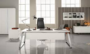 mobilier de bureau moderne design mobilier de bureau moderne design bureau blanc avec retour eyebuy