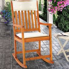 Wooden Rocking Chairs For Nursery by Wooden Rocking Chair Traditional Rocking Armchair Tropical Exotic