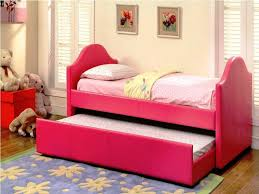 cute nice design girls day bed bedding on the wooden floor can add