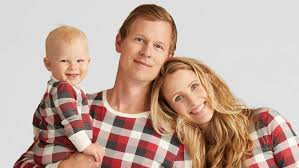 matching family pajamas that are picture instyle