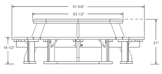 Free Octagon Picnic Table Plans by Free Octagon Picnic Table Plans Things That Could Be Useful
