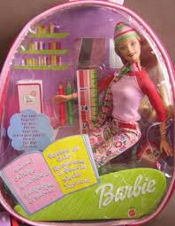 amazon barbie cool doll plastic backpack carry