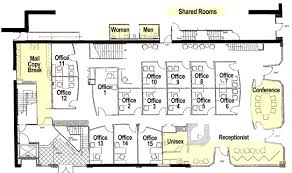 Floor Plan Office Layout Office Floor Plan 17th U0026 Central Executive Suites