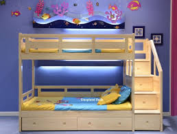 Staircase Bunk Bed Uk Luxury Solid Pine Bunk Bed Sleepland Beds
