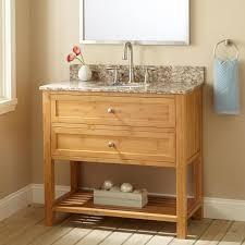 Narrow Bathroom Vanity Contemporary Undermount Sink Vanity Signature Hardware