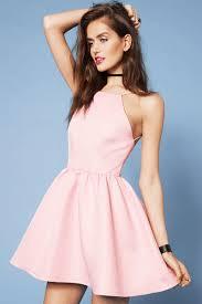 light pink halter dress halter dress casual good dresses
