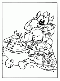 fantastic baby looney tunes coloring pages baby coloring