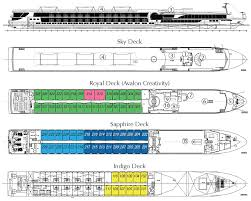 Cruise Ship Floor Plans by