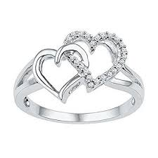 925 sterling silver v shaped heart promise ring size 5 6 7 8 9 10 41 best heart promise rings images on heart engagement