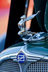 1933 buick ornament photograph by reger