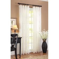 Crushed Voile Sheer Curtains by Walmart Sheer Curtain Panels U2013 Aidasmakeup Me