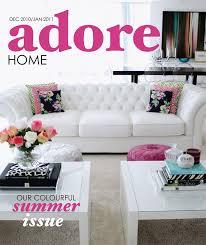 Home Decorating Magazine Home Decor Budgetista Adore Home Magazine