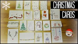 stylish ideas diy christmas card delightful 15 diy easy homemade