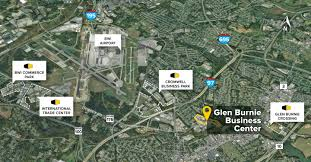 Bwi Airport Map Glen Burnie Business Center Glen Burnie Md Flex Space St John