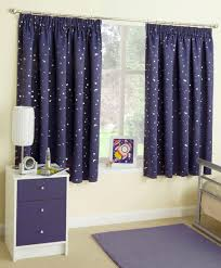 Coffee Bag Curtains by Blue Moon And Stars Moonlight Pencil Pleat Tape Top Thermal