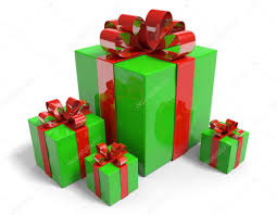 gift boxes christmas christmas presents in gift boxes with shiny green wrapping paper