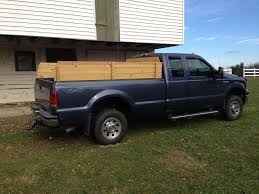 Truck Bed Flag Mount Pickup Truck Sideboards Stake Sides Ford Super Duty 4 Steps