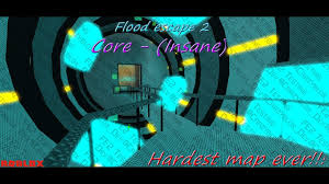Roblox Maps Roblox Flood Escape 2 Map Test Core Insane Made By