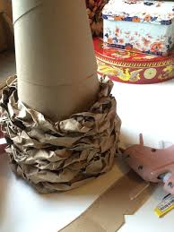 rustic christmas decorations make a cereal box christmas tree with recycled grocery bags hometalk