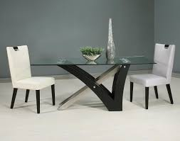 White Leather Dining Room Chairs Leather Dining Room Chairs Trends And Contemporary Chair In
