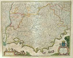 Provence France Map by Provence Comte Et Gouvernement De Provence Michael Jennings