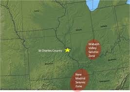 St Charles Illinois Map by Earthquake St Charles County Mo Official Website